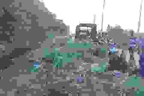 Nghi án tài xế xe ôm bị sát hại, thi thể nằm dưới mương nước