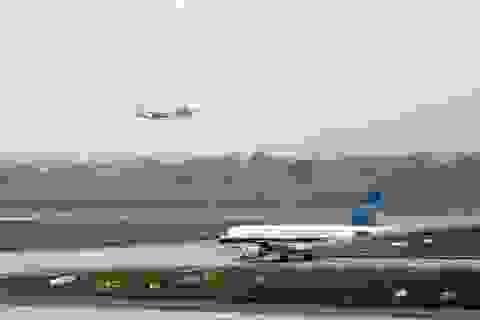 Nguy cơ đóng cửa đường băng sân bay Nội Bài vì hằn lún rộng 1m