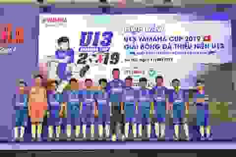 Yamaha tiếp tục đồng hành cùng bóng đá Việt Nam với giải U13 Yamaha Cup 2019