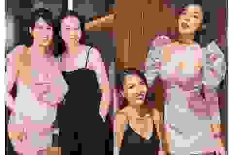 Bà xã Cường Đôla dự sinh nhật Diệp Lâm Anh sau đám cưới ngợp siêu xe