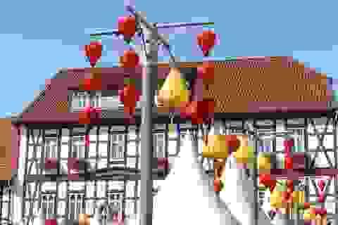Rực rỡ lễ hội đèn lồng Hội An tại Đức