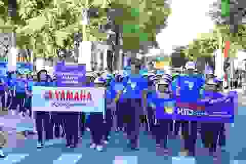 Hào hứng lễ khai mạc Giải Bóng đá thiếu niên U13 Yamaha Cup 2019