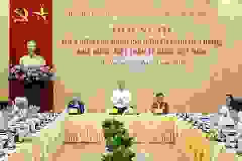 Thủ tướng nghe ý kiến các nguyên lãnh đạo Đảng, Nhà nước về mục tiêu tăng trưởng cao