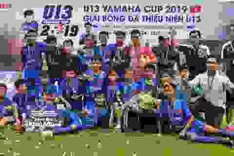 Lộ diện đội bóng đầu tiên vào chung kết giải U13 Yamaha Cup 2019