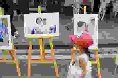 Hà Nội: Triển lãm ảnh về trẻ khuyết tật