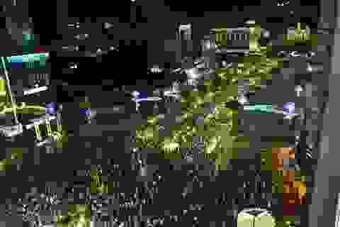 Cấm xe nhiều tuyến đường trung tâm Sài Gòn để bắn pháo hoa mừng Quốc khánh