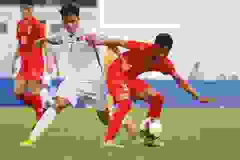 U15 Việt Nam vượt qua Myanmar tại giải U15 quốc tế