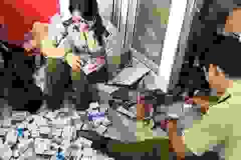 Phát hiện lô thuốc tân dược rất lớn nghi nhập lậu trị giá hơn 2 tỷ đồng