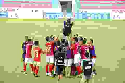 CLB Hồng Lĩnh Hà Tĩnh chính thức thăng hạng V-League 2020