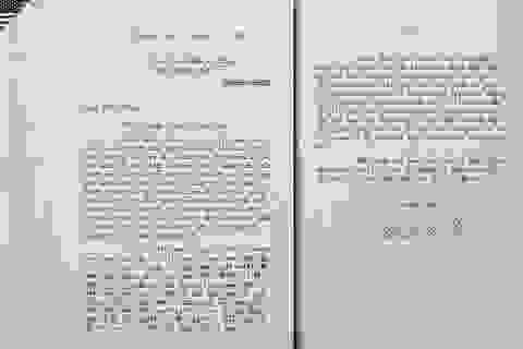 Công bố bức thư Bác Hồ gửi Tổng thống Mỹ trước khi qua đời