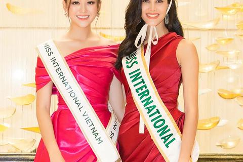 Á hậu Tường San trở thành đại diện Việt Nam tham dự Miss International 2019