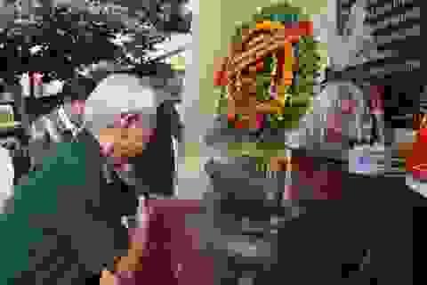 Hàng trăm cựu binh tưởng niệm liệt sĩ hy sinh ở đảo Cồn Cỏ