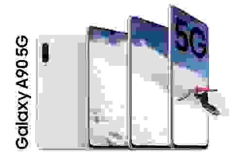 Samsung trình làng Galaxy A90 5G - smartphone tầm trung đầu tiên có kết nối 5G