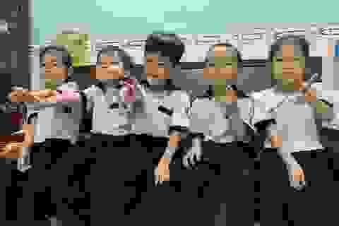 Những đứa trẻ ca sinh 5 đầu tiên ở Việt Nam trong lễ khai giảng vào lớp 1