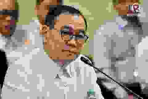 """Philippines nói gửi công hàm phản đối Trung Quốc giống """"ném giấy vào tường gạch"""""""