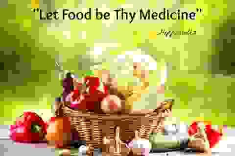 Ăn uống đúng mức, góp sức chữa bệnh