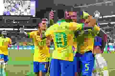 Brazil 2-2 Colombia: Neymar ghi bàn, Brazil vẫn hòa thất vọng