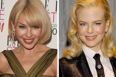 """Nicole Kidman và Kylie Minogue """"đập tan"""" tin đồn bất hòa với bức ảnh chụp chung đầu tiên"""