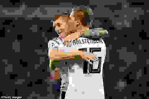 Hạ gục Bắc Ailen, Đức vượt lên dẫn đầu bảng