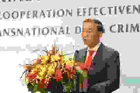 Bộ trưởng Công an nói về sự bùng nổ toàn cầu của ma tuý tổng hợp