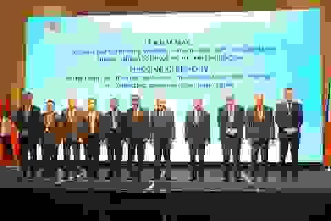 Tuyên bố chung hội nghị cấp Bộ trưởng về hợp tác đấu tranh phòng, chống ma tuý