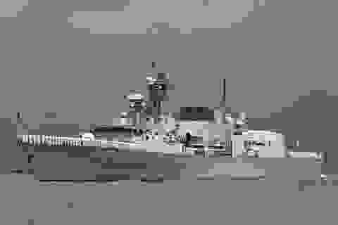 Canada điều tàu chiến qua Eo biển Đài Loan giữa lúc căng thẳng