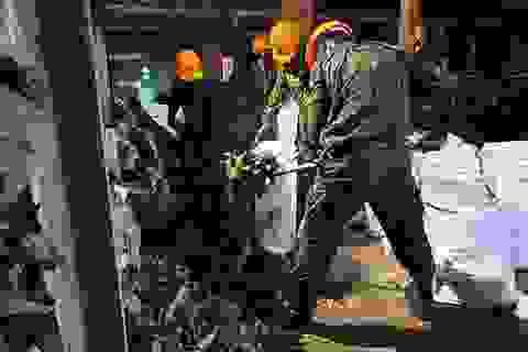 """Hà Nội vẫn chưa """"bắt"""" được thủy ngân trong không khí sau vụ cháy ở Rạng Đông"""