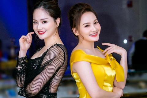 """Lan Phương và Bảo Thanh như """"chị em song sinh thất lạc"""""""
