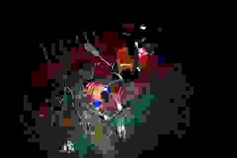 Tìm thấy thi thể nạn nhân rơi xuống sông sau vụ tai nạn trên cầu Thanh Trì