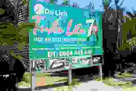 Nhiều dự án du lịch lấn chiếm rừng dừa Bảy Mẫu