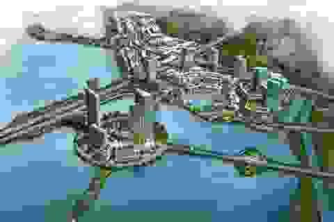 Mô hình đại đô thị thông minh tích hợp du lịch, thương mại, giải trí và lưu trú.