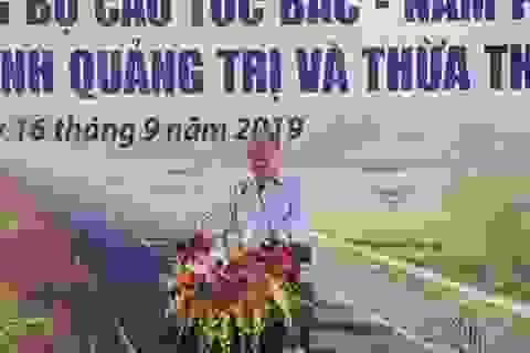 Thủ tướng dự lễ khởi công cao tốc Bắc - Nam đoạn qua Quảng Trị, TT-Huế