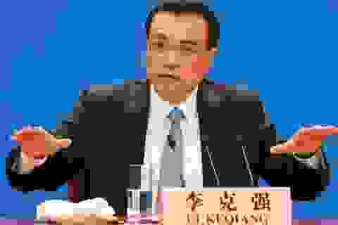 Thủ tướng Trung Quốc thừa nhận khó duy trì tăng trưởng kinh tế