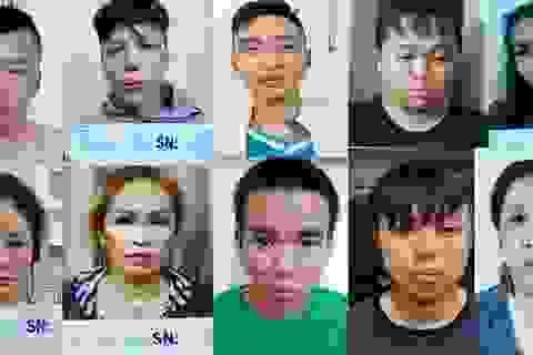 Bắt nhóm dàn cảnh bán dâm trộm tài sản của khách làng chơi ở Sài Gòn
