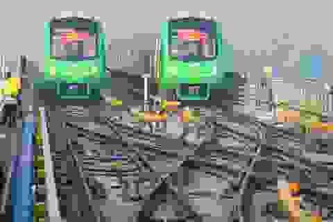 Đoàn tàu đường sắt Cát Linh - Hà Đông chưa được cấp chứng nhận đăng ký