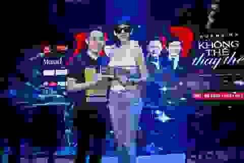 Không tham gia liveshow nhưng Xuân Lan vẫn nhiệt tình ủng hộ Quang Hà