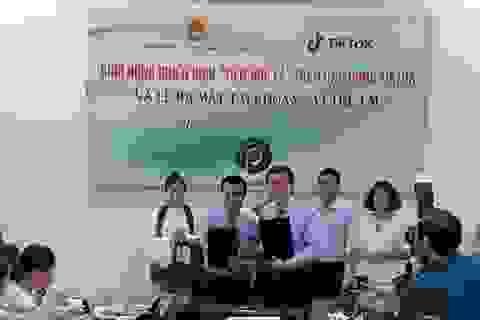 Nâng cao ý thức phòng chống xâm hại, bạo lực trẻ em với ứng dụng TikTok