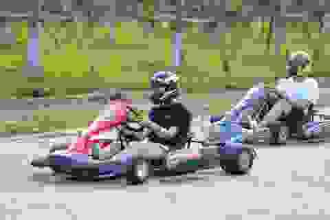 """Trải nghiệm đua """"xe F1 thu nhỏ"""" ngay tại Hà Nội"""