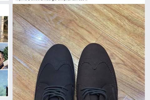 Du khách cười mếu vì sang Hong Kong... mua giày hai chiếc hai màu