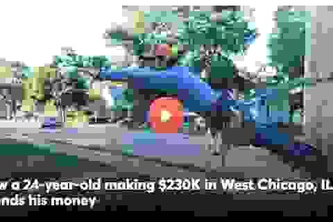 Kiếm 450 triệu đồng/tháng, quyết tâm thành triệu phú USD ở tuổi 30