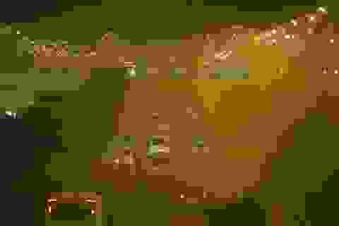 Hà Nội: Đường đi sân bay Nội Bài mù mịt khói rơm