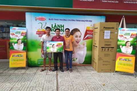 Cơ hội cuối trúng tủ lạnh, máy giặt khi ăn phở, bún, hủ tiếu Acecook Việt Nam