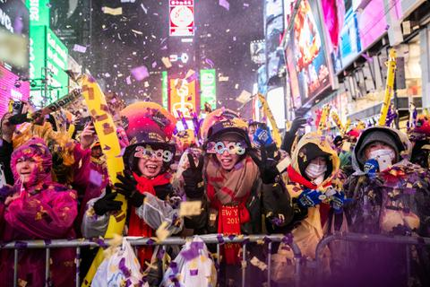 Mỹ tưng bừng chào đón năm mới 2019