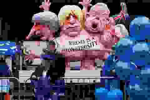 """Người Anh xuống đường vì Brexit trước """"giờ G"""""""