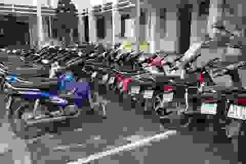 Phát hiện tiệm cầm đồ cầm gần 100 xe máy không chính chủ