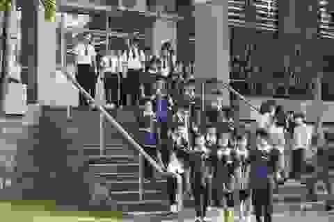 Trường cho phép học sinh lớp 12 học đại học