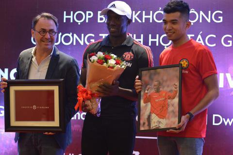 Sao Manchester United tin đội tuyển Việt Nam sẽ sớm dự World Cup