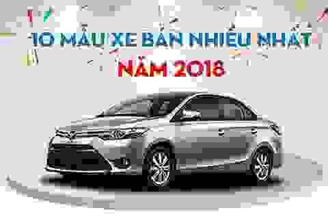 Mẫu xe nào bán chạy nhất Việt Nam năm 2018?