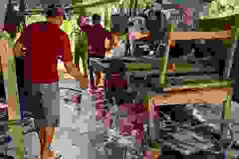 Tiêu hủy 3,2 tấn thịt, nội tạng heo bệnh chuẩn bị lên bàn ăn