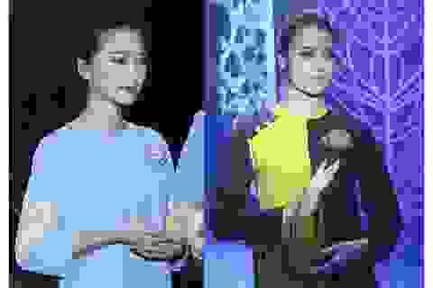"""Hồng Quế và """"bạn gái tin đồn"""" của Phan Văn Đức dịu dàng trong show diễn Chào Xuân"""